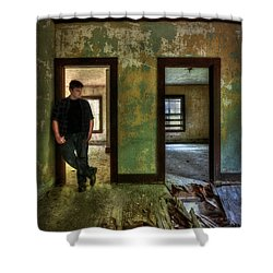 Beyond Regrets Of The Past Shower Curtain by Evelina Kremsdorf