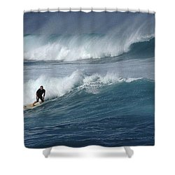 Beyond The Reef Shower Curtain by Bob Christopher