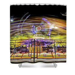 Beyond The Safety Fence Shower Curtain by Ray Warren