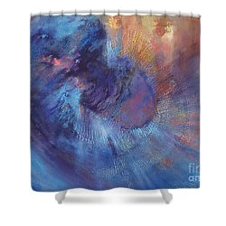 Beyond Shower Curtain by Valerie Travers