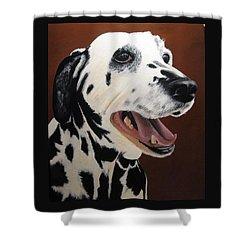 Bianca Rob's Dalmatian Shower Curtain