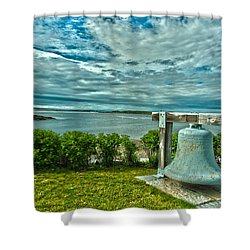 Biddeford Pool Bell Shower Curtain