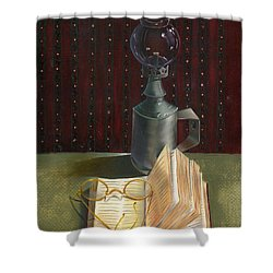 Bifocal Read Shower Curtain
