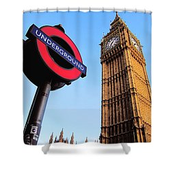 London Big Ben Shower Curtain by Andreas Thust