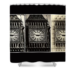 Shower Curtain featuring the photograph Big Ben by John Rizzuto