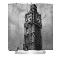Big Ben London Shower Curtain