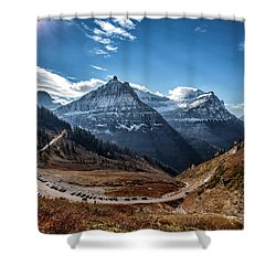 Big Bend Shower Curtain by Aaron Aldrich