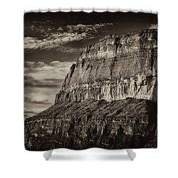 Big Bend Cliffs Shower Curtain