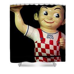 Big Boy Shower Curtain