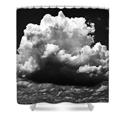 Big Cloud Shower Curtain