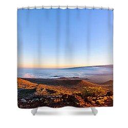 Big Island Sunset 2 Shower Curtain