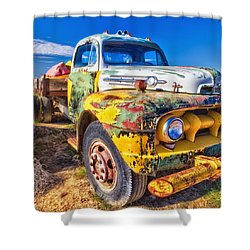 Big Job Shower Curtain