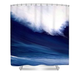 Shower Curtain featuring the digital art Big Kahuna 2 by Anthony Fishburne