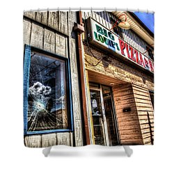 Big Louie's Shower Curtain by Ray Congrove