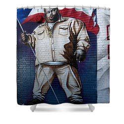 Big Pun Shower Curtain by RicardMN Photography