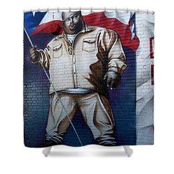 Big Pun Shower Curtain