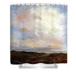 Big Sky Country Shower Curtain by Lee Piper