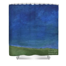 Big Sky Shower Curtain by Linda Woods