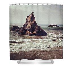Big Stretch Shower Curtain