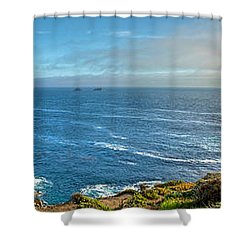 Big Sur Coast Pano 2 Shower Curtain