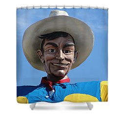 Big Tex Shower Curtain