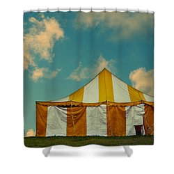 Big Top Shower Curtain by Laura Fasulo