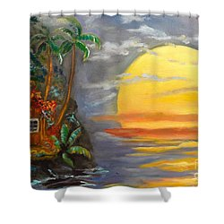 Magical Sunser Jenny Lee Discount Shower Curtain