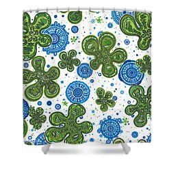 Bigbis Shower Curtain