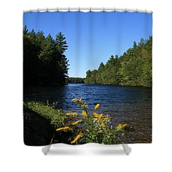 Shower Curtain featuring the photograph Bigelow Hollow  by Neal Eslinger