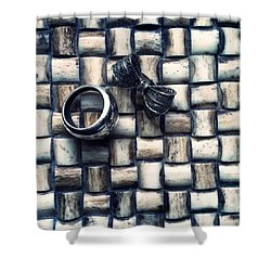 Bijouteries Shower Curtain by Marco Oliveira
