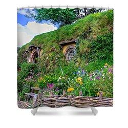 Bilbo Baggins House 1 Shower Curtain