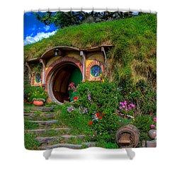 Bilbo Baggin's House 5 Shower Curtain