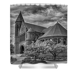 Billings Library At Uvm Burlington  Shower Curtain