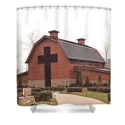 Billy Graham Library Shower Curtain