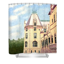 Biltmore Balcony Shower Curtain by Stacy C Bottoms