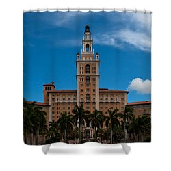 Biltmore Hotel Coral Gables Shower Curtain
