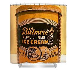 Biltmore Ice Cream Shower Curtain