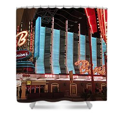 Binions Shower Curtain by Kay Novy