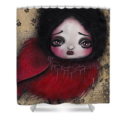Bird Girl #1 Shower Curtain