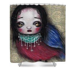 Bird Girl #2 Shower Curtain