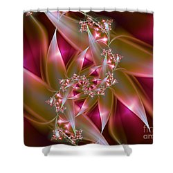 Bird Of Paradise Shower Curtain by Lena Auxier