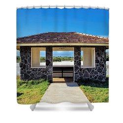 Shower Curtain featuring the photograph Bird Sanctuary 2 by Dawn Eshelman