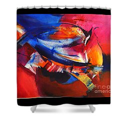Birds Of A Feather Shower Curtain by Glory Wood