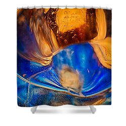 Birds Of A Feather Shower Curtain by Omaste Witkowski
