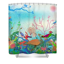 Birds Of My Landscapes - Limited Edition  Of 15 Shower Curtain