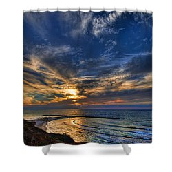 Shower Curtain featuring the photograph Birdy Bird At Hilton Beach by Ron Shoshani