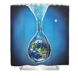 Birth Of Earth Shower Curtain