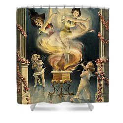 Birth Of The Chorus Girl Shower Curtain by Aged Pixel