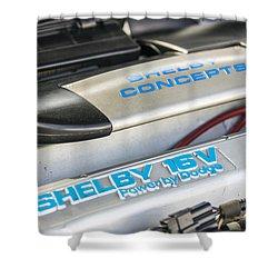 Birthday Car - Engine Bay Shower Curtain