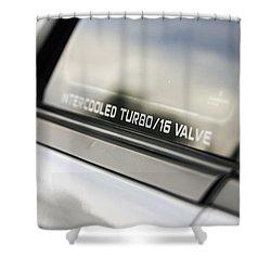 Birthday Car - Intercooled Turbo 16 Valve Shower Curtain